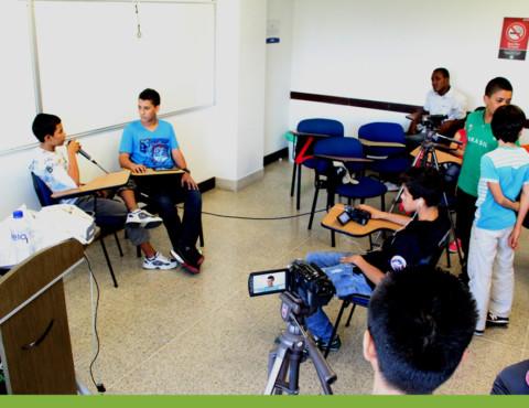 Luces, cámara y acción: nace un medio de comunicación escolar interinstitucional
