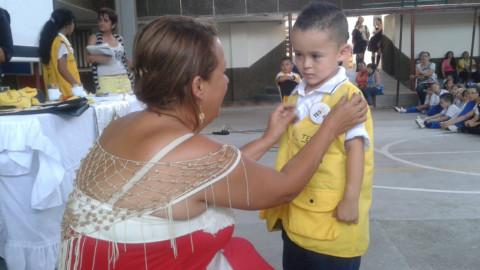 Monitores TESO desde preescolar, una gran experiencia de la IE El Rosario