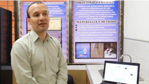 Juan Carlos Arango, un Charles Darwin utilizando las TIC