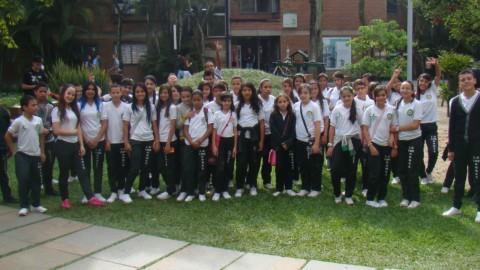 Estudiantes de Los Gómez visitaron EAFIT