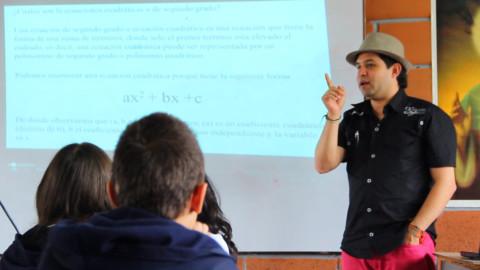 Matemáticas y TIC: la experiencia del docente Johnny Vargas
