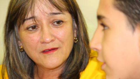 """""""La voz de los Monitores TESO debe ser la voz de todos los estudiantes"""": Mary Sol Cano"""
