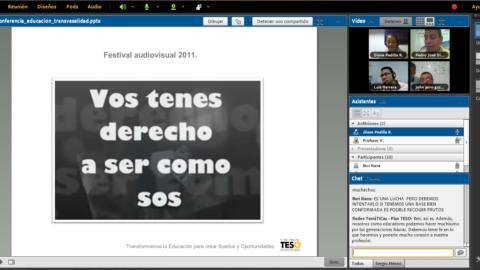 """""""Educación y transversalidad"""" tercera videoconferencia de las Redes Temáticas"""