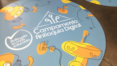 Monitores TESO viven el Campamento Antioquia Digital