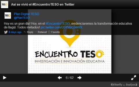 #EncuentroTESO en nuestras redes sociales