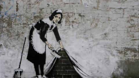 Arte contemporáneo: Banksy