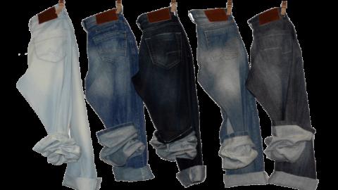 Infografías: Lavado industrial de pantalones tipo jeans