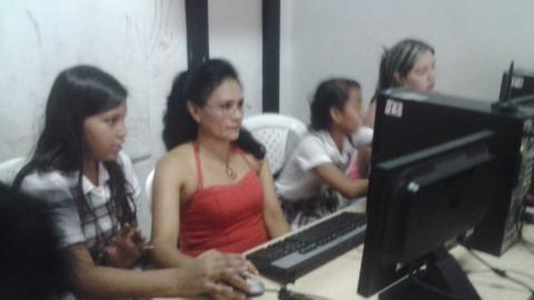 En la Marceliana, la comunidad aprende usando las TIC