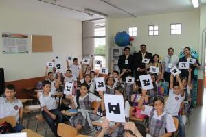 Visitantes conocieron la evaluación con códigos QR