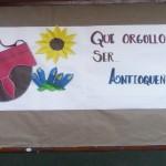 Carteleras en la Institución Educativa María Jesús Mejía