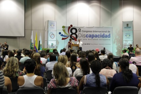 Plan Digital Itagüí presente en el 8° Congreso Internacional de Discapacidad