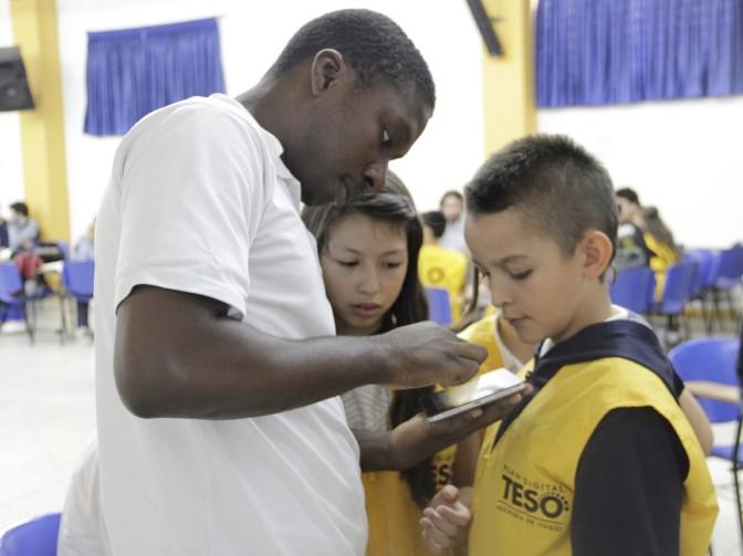 Encuentro de Monitores TESO en la I.E Diego Echavarría Misas