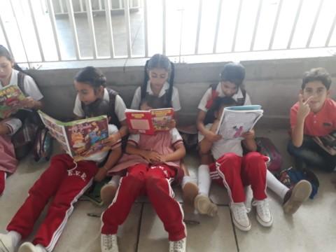 Comparto lectura con los pequeños