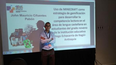 Itagüí presente en Virtual Educa Argentina 2018
